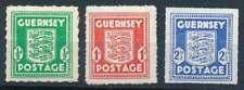D. Besetzung Guernsey Nr. 1-3 postfrisch/**, Freimarken Wappen (69708)