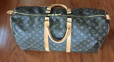 Authentic Louis Vuitton Keepall Duffle Carry on Weekend Travel bag with shoulder