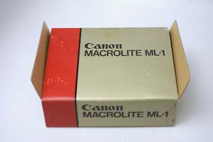 Canon ML-1 Macro Lite Flash - Original Box,Accesories