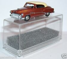 MICRO PRALINE HO 1/87 BUICK 50 CABRIOLET FERME MARRON IN BOX