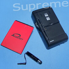 High Capacity 2770mAh Battery Wall Charger Pen F ZTE Supreme Virgin Mobile Phone