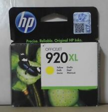 HP 920XL Tinte yellow  für OfficeJet 6000 6500 7000 7500  CD974AE OVP