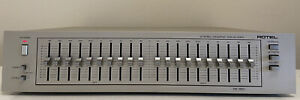 Rotel RE-860 10 Band Stereo Graphic Equaliser