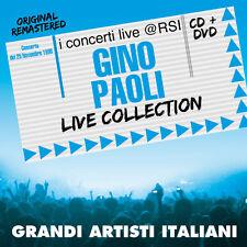 """GINO PAOLI  """"LIVE COLLECTION@RSI""""  (CD+DVD)"""