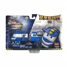 David Toy Robot Train S2 Diecasting Kay Deluxe Set