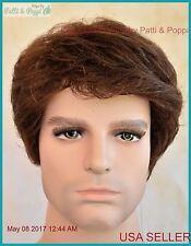 Men's Wig  Color  Brown New Man Wig Men 1192