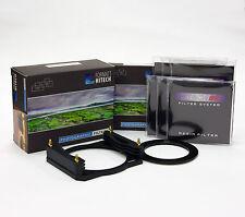 Formatt Hitech 85 Soporte De Metal Master Suave Grad Kit C/wholder, 6xND Anillo, Filtros