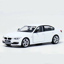 1:24 Scale BMW 3 Series 335i Model Car Diecast Vehicle Gift Collectable White