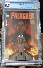 Preacher 1 CGC 8.5 White Pages!