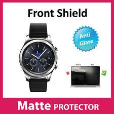 Samsung Gear S3 CLASSIQUE MAT AVANT anti-reflets écran protecteur écran