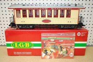 "LGB 33804 Disneyland Railroad ""Long Island"" Passenger Car *G-Scale* DISNEY"