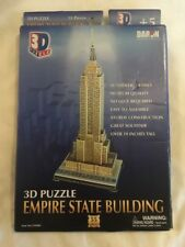 DARON #CF048H Empire State Building 3D Puzzle 55 Pieces NEW Fast Free Ship
