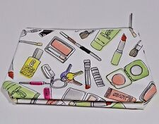Clinique Cosmetic Make Up Bag (approx 9.5 x 6 inches)