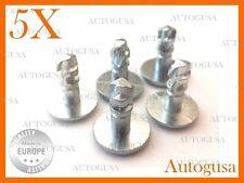 5 PSC NEW OEM UNDER ENGINE COVER CLIPS (GALVANIZED) FOR AUDI, VW,SKODA 8D0805121