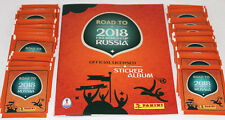 Panini ROAD TO FIFA WORLD CUP RUSSIA 2018 - 50 TÜTEN PACKETS 250 Sticker + ALBUM