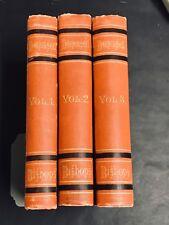 Catholic Lives of Deceased U.S. Bishops 1121-1886 Rare 3 Volume Hardcover Set