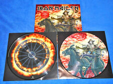 IRON MAIDEN DEATH ON THE ROAD 2 LP VINYL PICTURE (1ST PRESS - 2005) - LTD. ED,