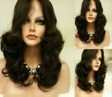 "12"" Natural Virgin  Russian Human Lace Front Wig Tangle free 100% Virgin Med"