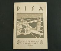 Vintage Italy Tourist Travel Brochure ~ French Edition