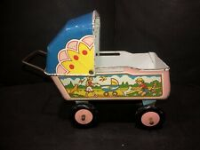 VINTAGE/ ANTIQUE TIN BABY DOLL CARRAGE, STROLLER, BUGGY BY OHIO ART OR WYANDOTTE