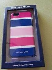 iPhone 6 Plastic Cover - Pink and Blue Design