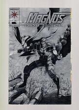 Magnus Robot Fighter #25 - 1993 - Valiant,  Silver Foil Cover