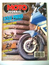 >N°790 MOTO JOURNAL 600 DR / Suzu 1400 Cavalcade