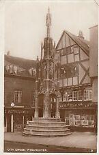 Postcard - Winchester - City Cross (RP) 2
