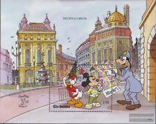 Gambia Blok 95 (compleet.Kwestie.) postfris MNH 1990 Walt-Disney-Cijfers in Enge