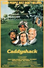 """CADDYSHACK MINT ROLLED MOVIE POSTER GOLF CHEVY CHASE BILL MURRAY 22 3/4""""x 35 1/2"""