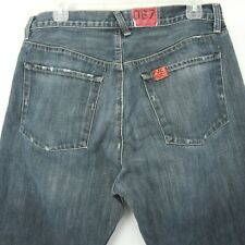 Polo Jeans Company RL Hayden Ralph Lauren 34X27 Blue Denim Button Fly Jeans