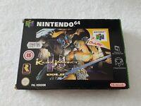 Killer Instinct Gold - Nintendo 64 N64 Game [PAL UKV] CIB