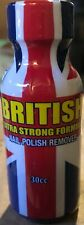 British UK Formula Nail Polish Remover 30ml