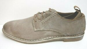 Steve Madden Size 10.5 Distressed Taupe Oxfords New Mens Shoes