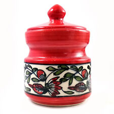 Handmade Ceramic Jar/Barni/Storage Jar 200 ML, Best For Gifting Made By Artisans