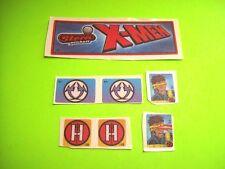 Stern X-MEN Original NOS Arcade Pinball Machine Set of (7) Playfield Decals