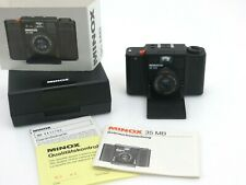 Minox 35 MB camera with Color Minotar lens f2,8 35mm instruction box sw199