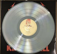 METALLICA KILL 'EM ALL, 180 GRAM GRAY COLORED VINYL LP IMPORT W/ LYRIC INSERT