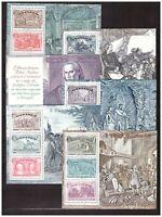 ITALIA MNH NUOVI 1992 C. Colombo n 6 BF s32427 Columbus