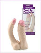 dildo fallo indossabile doppio realistico strap on vaginale anale pene finto