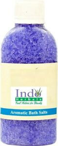 100 % pure lavender extract added himalayan mineral bath salt pain relief