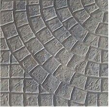 2 Plastic Molds for Concrete - Old World Cobblestone Pavers Cement Forms