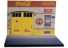 Diorama présentoir Coca-Cola - Hainaut Boissons - 1/43ème - #43-2-A-A-021