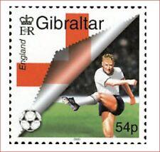 GIB0004 English football 1 stamps