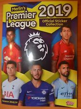 TOPPS/MERLINS PREMIER LEAGUE 2019-FULL LOOSE SET X 310 STICKERS AND EMPTY ALBUM