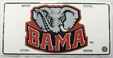 UNIVERSITY OF ALABAMA METAL LICENSE PLATE BAMA CRIMSON TIDE SIGN FOOTBALL L581