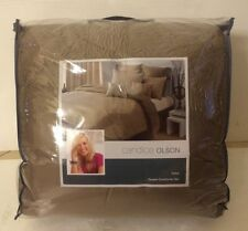 Candice Olson Tides Queen Comforter Set RN 76948 BRAND NEW!