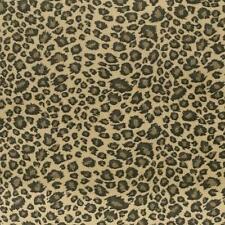 Fat Quarter Leopard Skin Tan Minkey Minkie Cotton Quilting Fabric  50 x 55cm