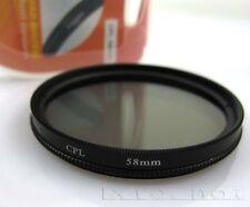 58mm CPL Circular Polarizing Filter for Canon 500D 550D 600D 1100D 1000D 18-55mm