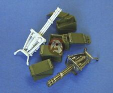 Legend 1/35 XM134 / M134 Minigun 6-barreled Machine Gun Set (2 Miniguns) LF1038